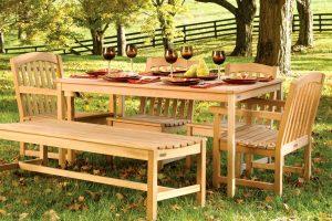 Выбор садовой мебели или отдых в соответствии с настроением