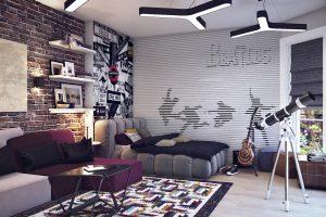 Комната подростка: время ремонта и обновления мебели
