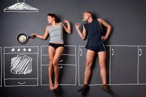 Мужчина на кухне или как включить мужа в домашнее хозяйство