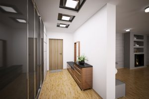 Дизайн узкой прихожей — как расставить мебель