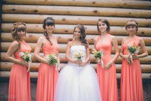 Одинаковые платья для подружек невесты или о чем не задумываются молодожены