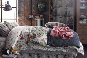 Цветочные мотивы в постельном белье — прекрасное решение для весны
