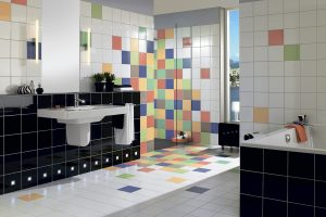 Выбор кафельной плитки для ванной комнаты: без спешки и внимательно