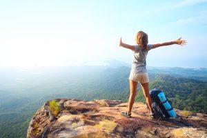 Рюкзак для активных девушек или почему без него не обойтись в путешествии