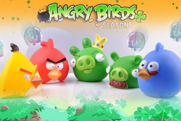Детская компьютерная игра Angry Birds