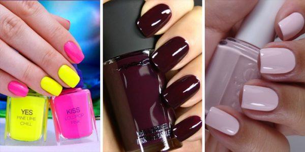 Популярные цвета ногтей весной 2016 года