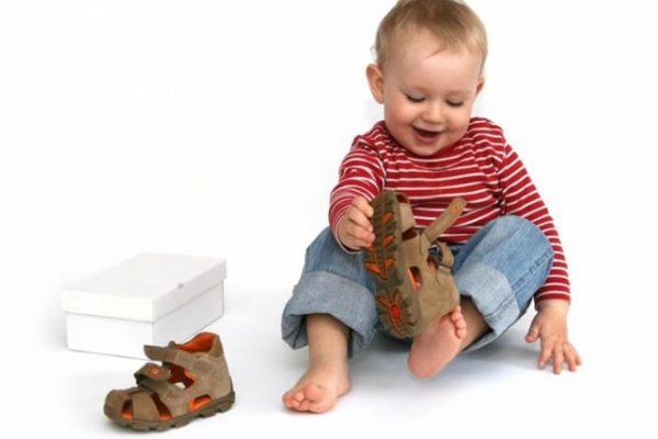 Обувь для годовалого ребенка