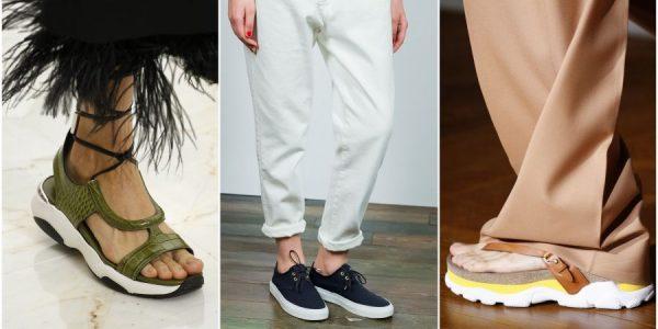 Модные тенденции обуви в сезон весна лето 2016