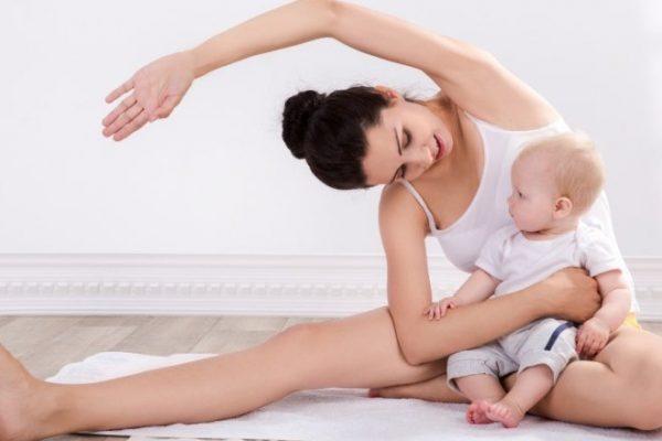 Девушка восстанавливается после родов