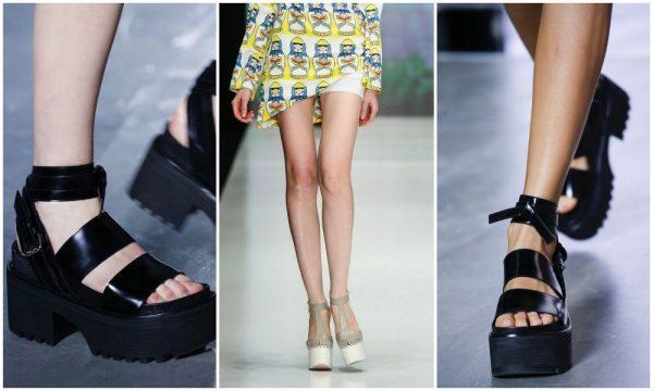 Модные женские летние сандалии