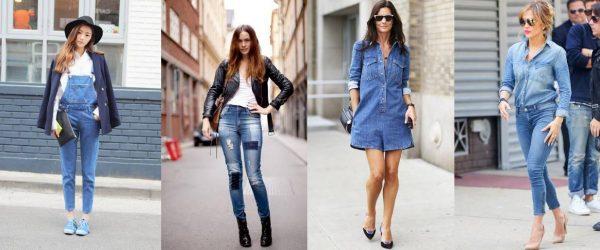 Модные джинсовые вещи на весну 2016