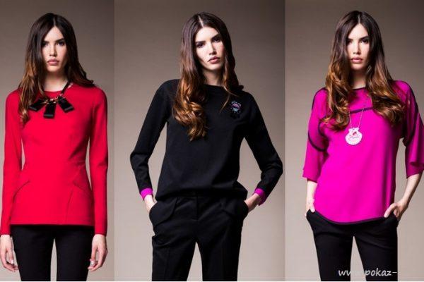 Модные цвета блузок в 2016 году