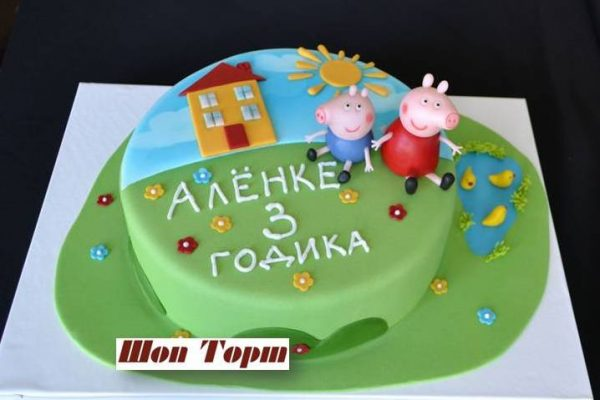 Как украсить детский торт для девочки?