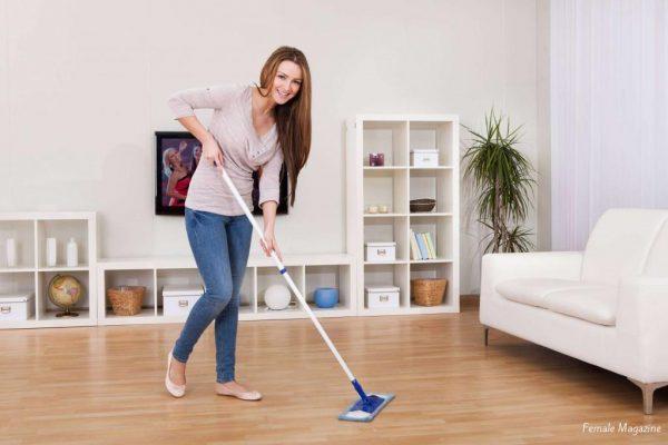 Как поддерживать чистоту в комнате?