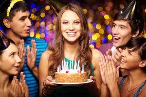 Как необычно отпраздновать день рождения?