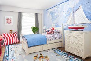 Выбор обоев для детской комнаты: пространство для сна, игр и творчество