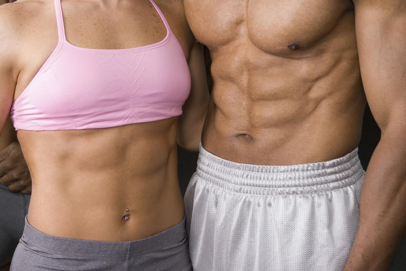 Как похудеть и накачаться правильно