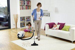 Чистота в доме как результат совместных усилий всех членов семьи