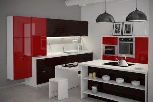 Кухонная мебель с фасадами из пластика: быть или не быть?