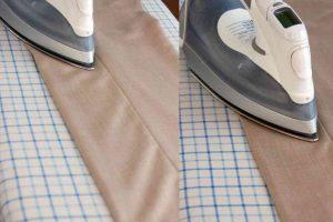 Основы глажки мужских брюк