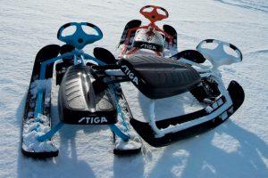 Зимние средства передвижения для детей: из санок в снегокат