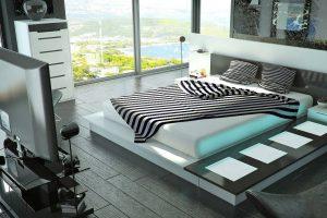 Как сделать оформление спальни современным
