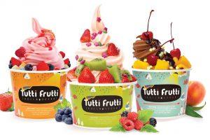 Йогурты Tutti Frutti — повод встретиться с друзьями