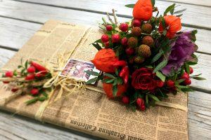 Цветочная упаковка подарков для женщин или это загадочное искусство дарить подарки
