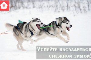 Успейте насладиться снежной зимой