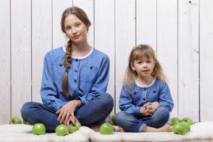 Стиль Family Look – модное направление одежды для мамы и дочки