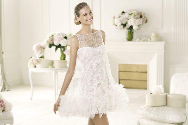 d502b7a1ae6d68e Традиционным для невесты считается длинное пышное свадебное платье, но  современные девушки хотят отличиться оригинальностью при проведении такого  яркого ...