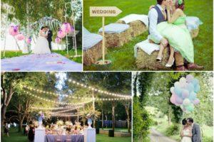 Идеи для свадьбы летом — сделай свой праздник самым ярким!