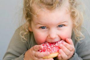Питание детей в возрасте от 1 года до 3 лет