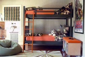 Детская комната в военном стиле